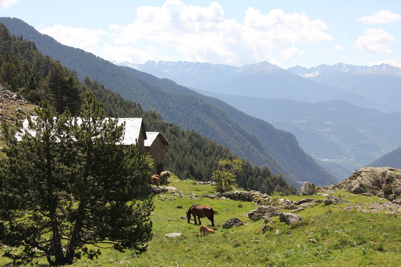 Bordas in Andorra can be rustic in a romantic way or in a basically a horse barn way.