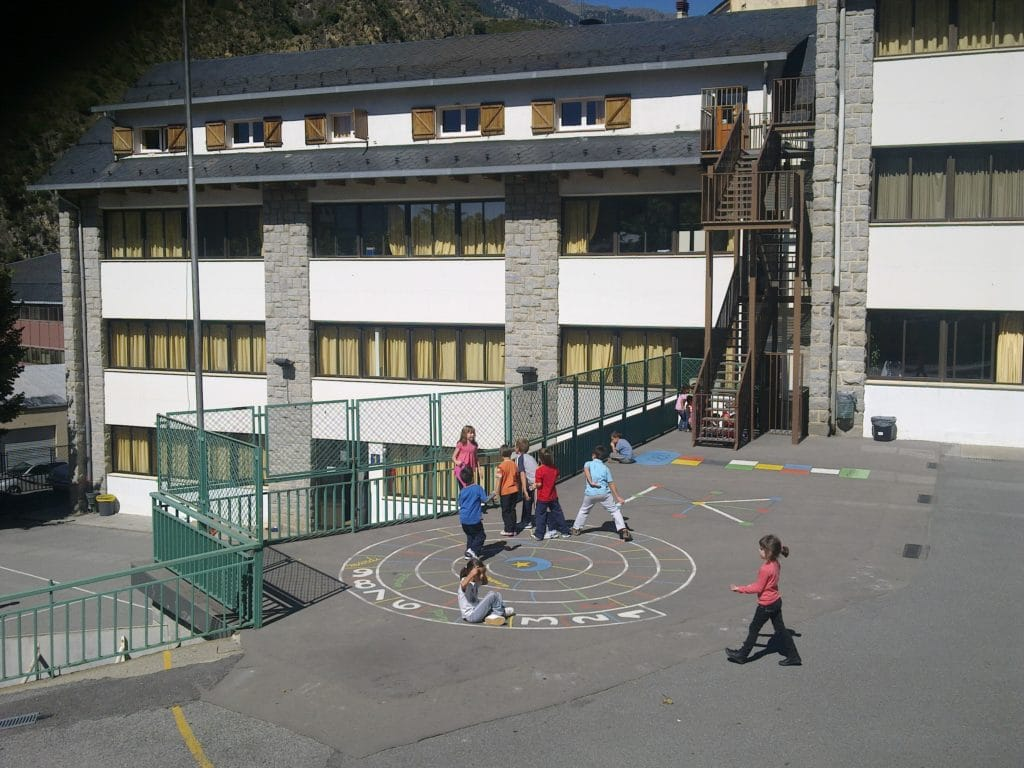 Andorra primary school in Sant Julia de Loria