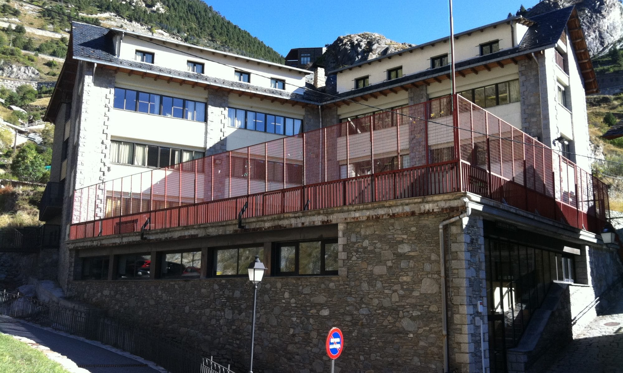 An Andorran school in Canillo