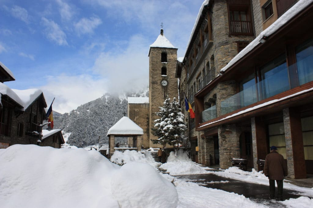 Winters in Andorra can make life cold!