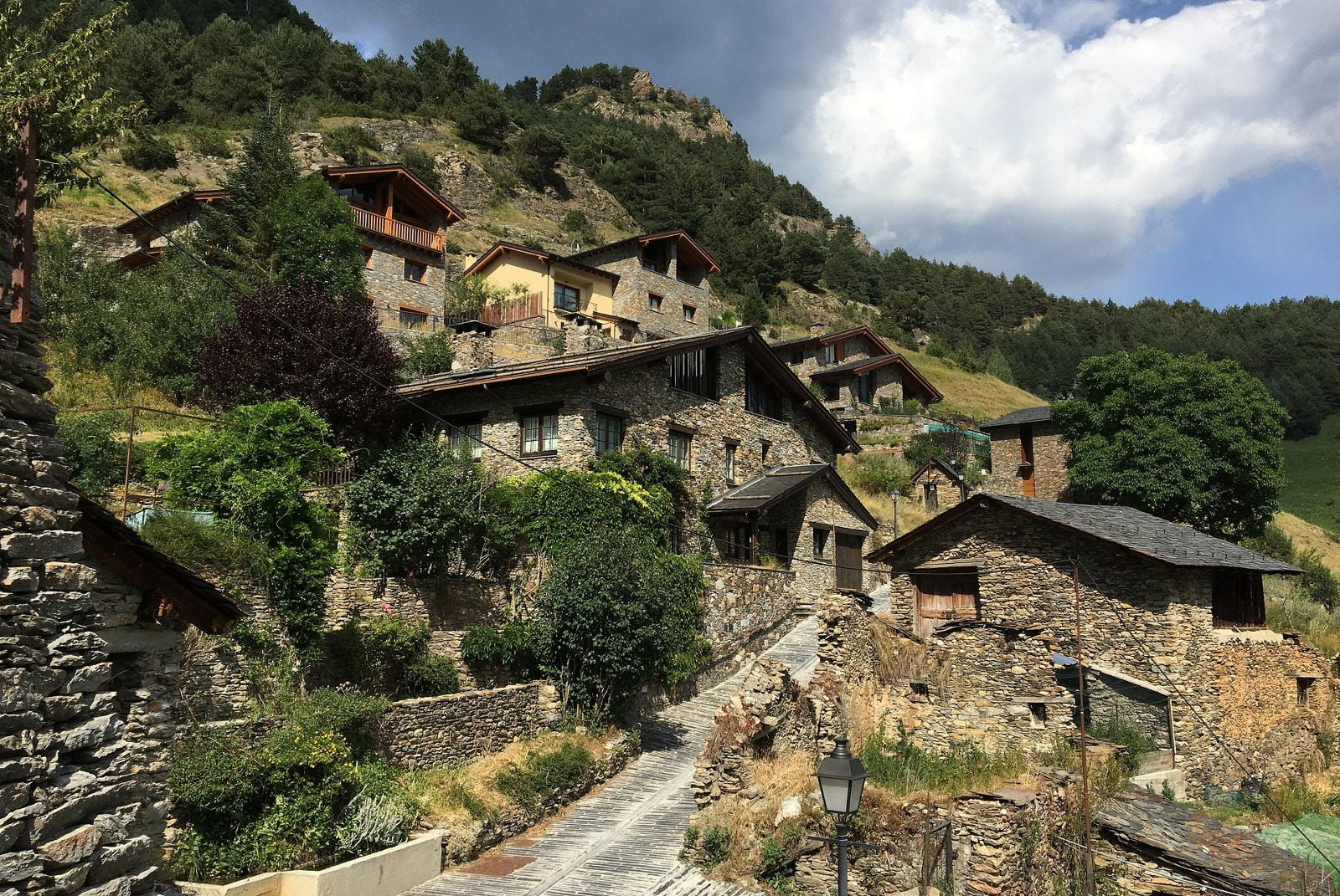 From the scenic views to the relative seclusion, there are many pluses and minuses to living in Andorra.