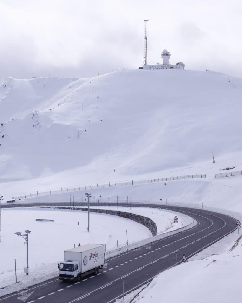 When buying property in Andorra, check road access in Winter.