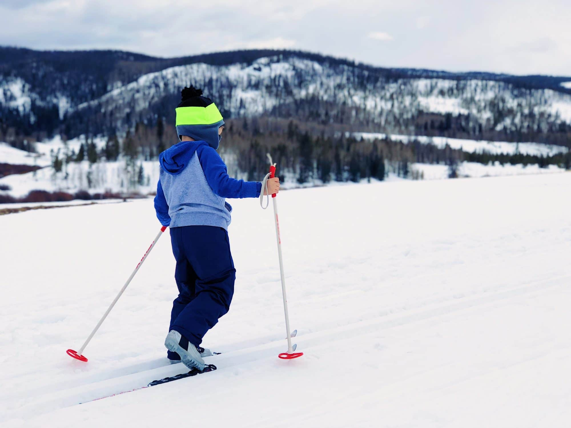 Nordic skiing shares the spotlight, but naturally most of the focus is on alpine skiing for the school curriculum in Andorra.