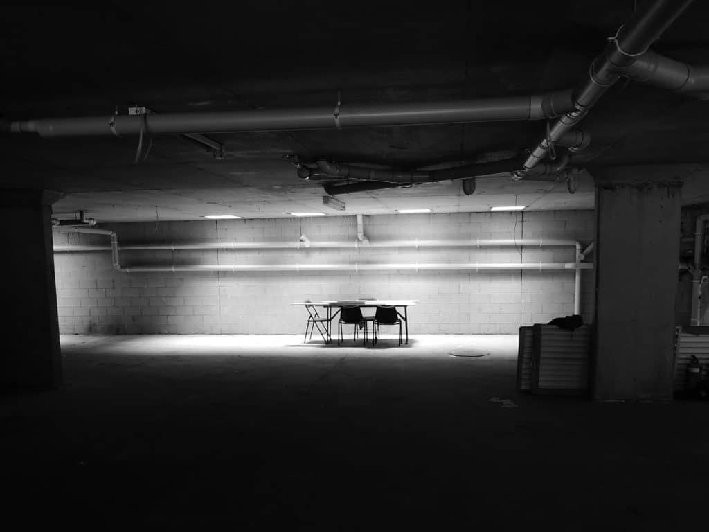 Empty Commercial Spaces